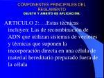 componentes principales del reglamento objeto y ambito de aplicaci n4