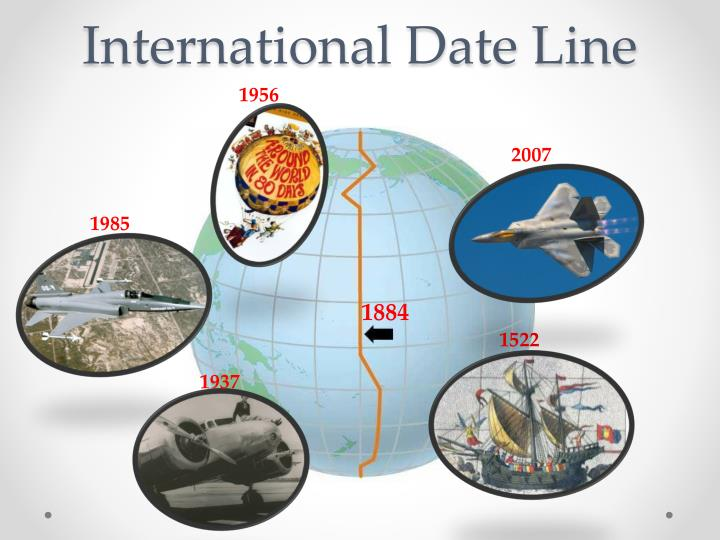 International Date Line IDL - Time and Date
