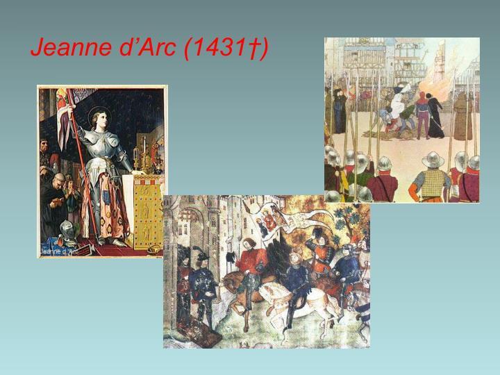 Jeanne d'Arc (1431