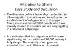 migration to ghana case study and discussion1