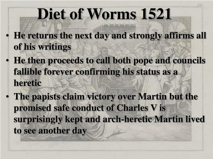 Diet of Worms 1521
