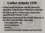 luther attacks 1520