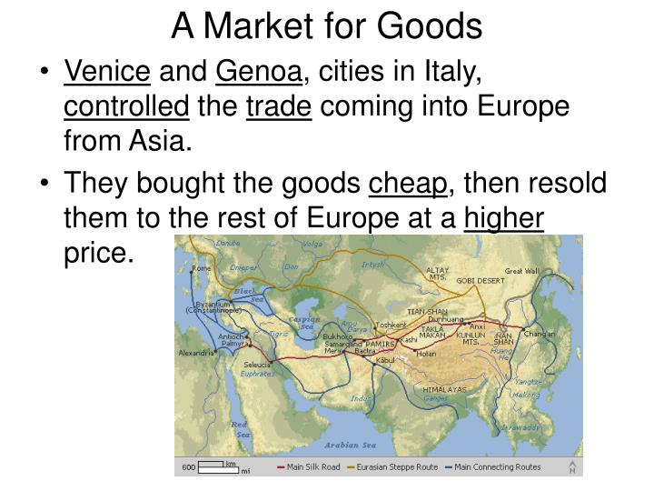 A Market for Goods