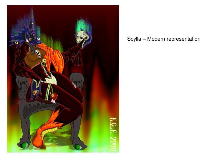Scylla – Modern representation