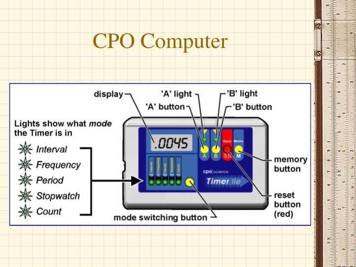 CPO Computer