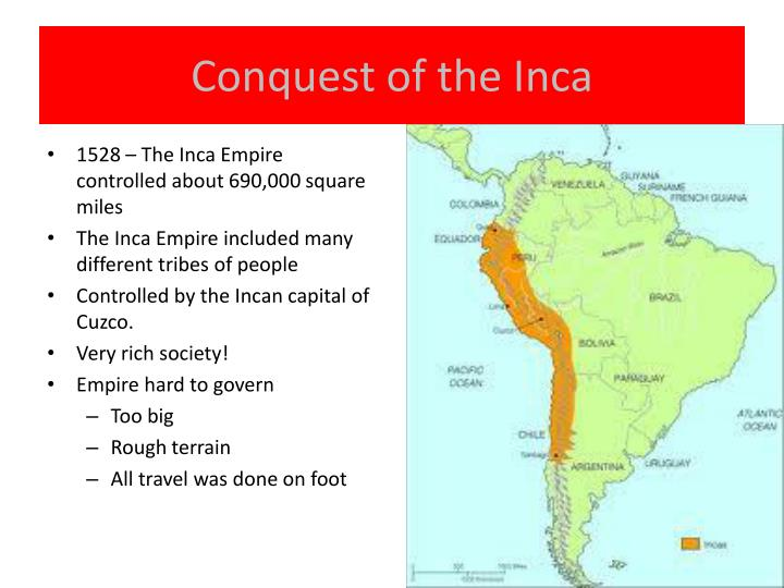 Conquest of the inca