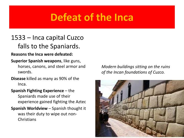 Defeat of the Inca