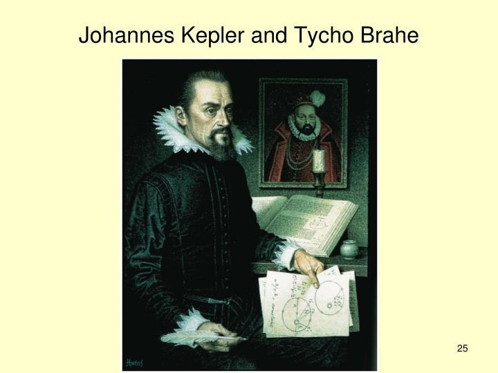 Johannes Kepler and Tycho Brahe