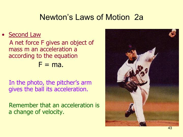 Newton's Laws of Motion  2a