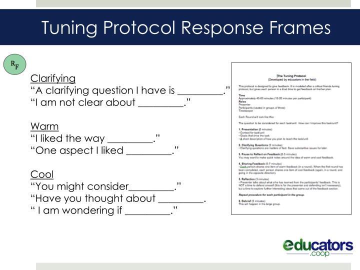 Tuning Protocol Response Frames