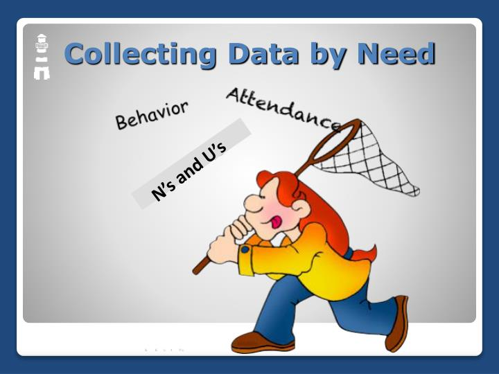 Collecting Data by Need