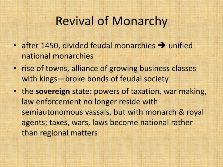 the rise of monarchies Meanwhile, the stakes were raised by price inflation, reflecting the higher demand attributable to a rise in the population of about 25 percent between 1500 and 1600 and the inflow of silver from the new world the expansion of both reached a peak by 1600 thereafter, for a century, the population.