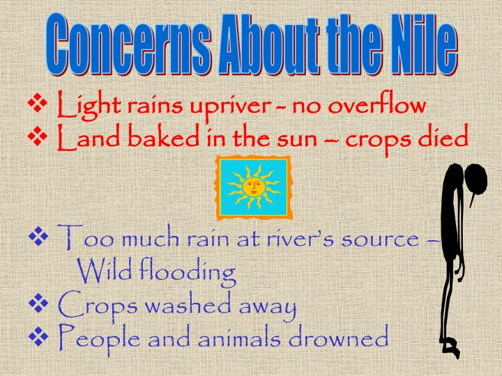 Concerns About the Nile