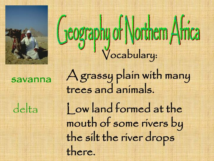 Geography of Northern Africa