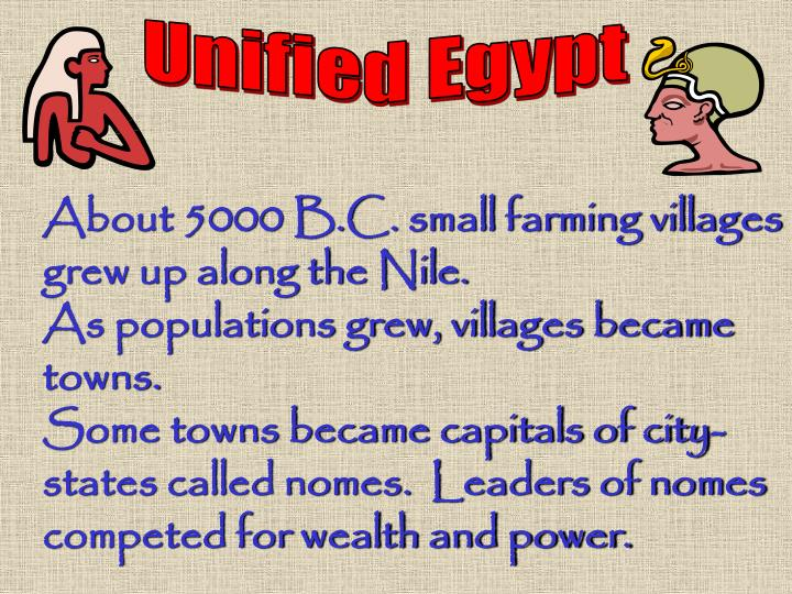 Unified Egypt
