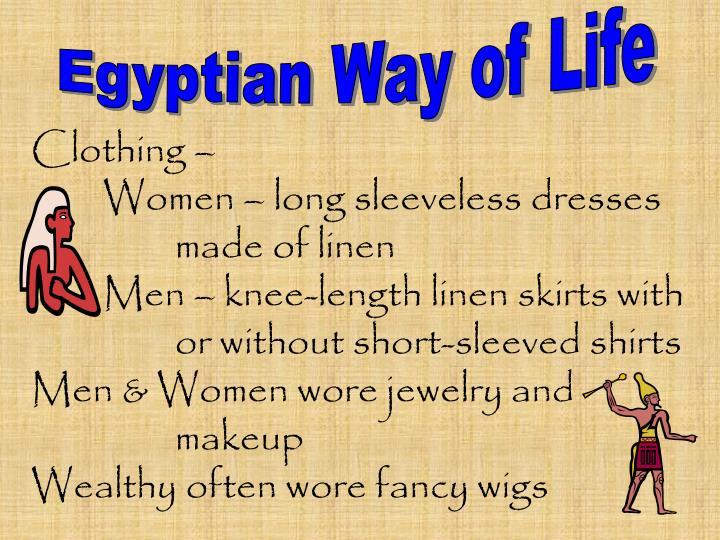 Egyptian Way of Life