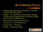 re calibration process