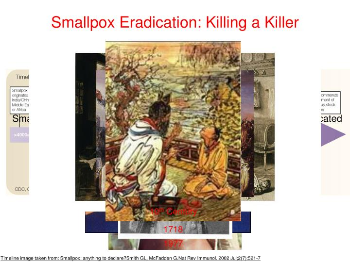 Smallpox Eradication: Killing a Killer