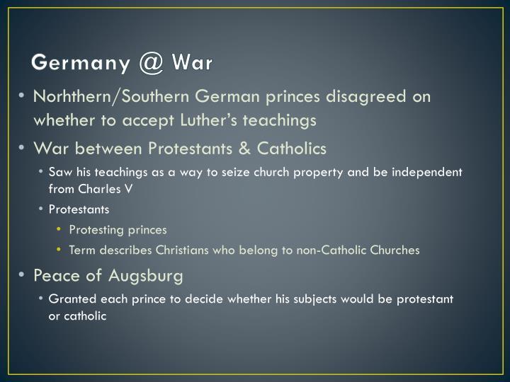 Germany @ War