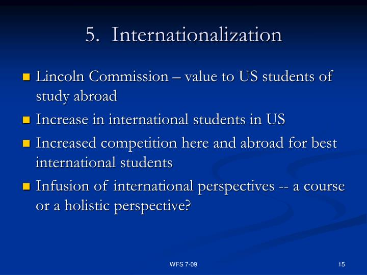 5.  Internationalization