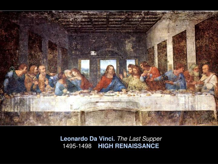 Leonardo Da Vinci.
