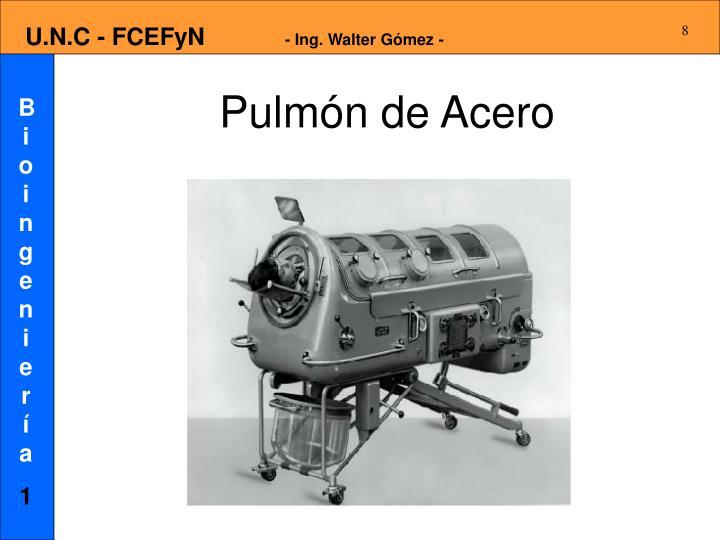 Pulmón de Acero