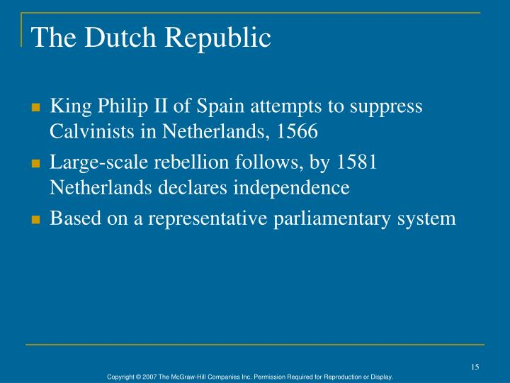 The Dutch Republic