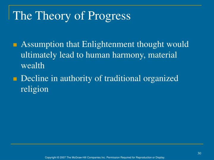 The Theory of Progress