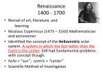 renaissance 1400 1700