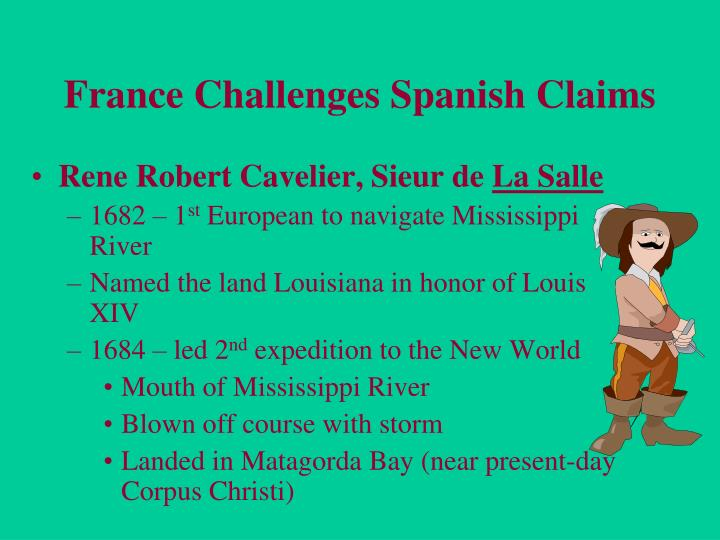 France Challenges Spanish Claims
