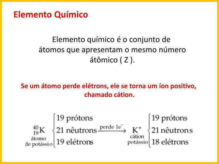 Elemento Qumico
