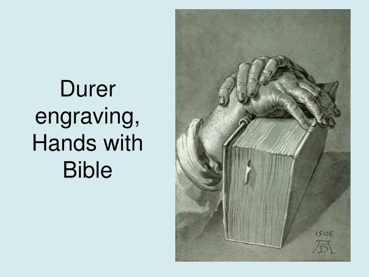 Durer engraving,