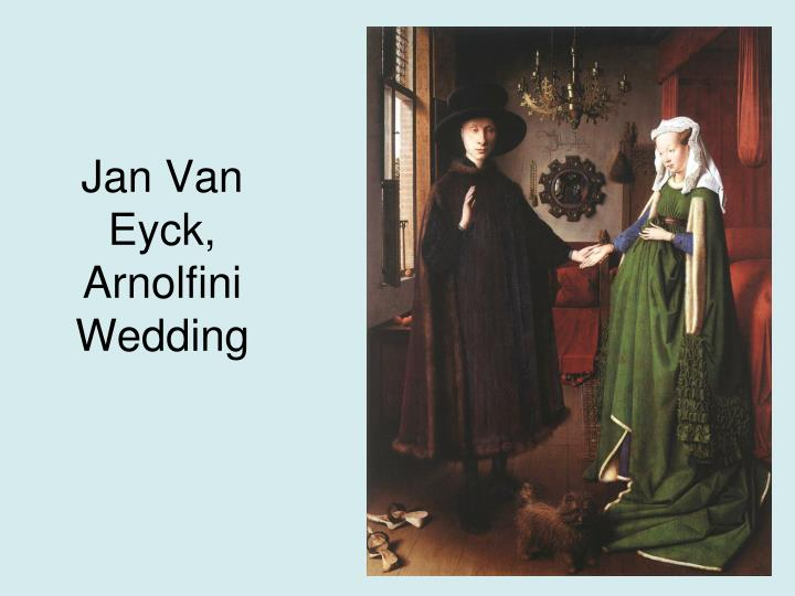 Jan Van Eyck, Arnolfini Wedding