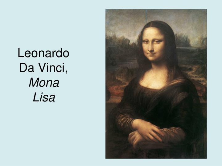 Leonardo Da Vinci,