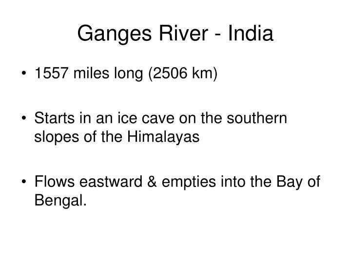 Ganges River - India