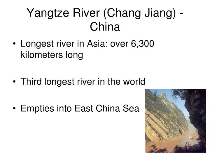 Yangtze River (Chang Jiang) - China