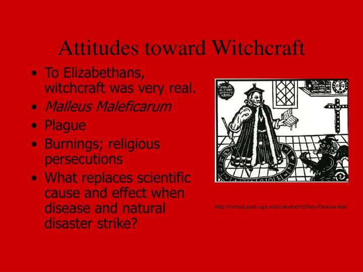 Attitudes toward Witchcraft
