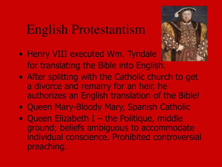 English Protestantism
