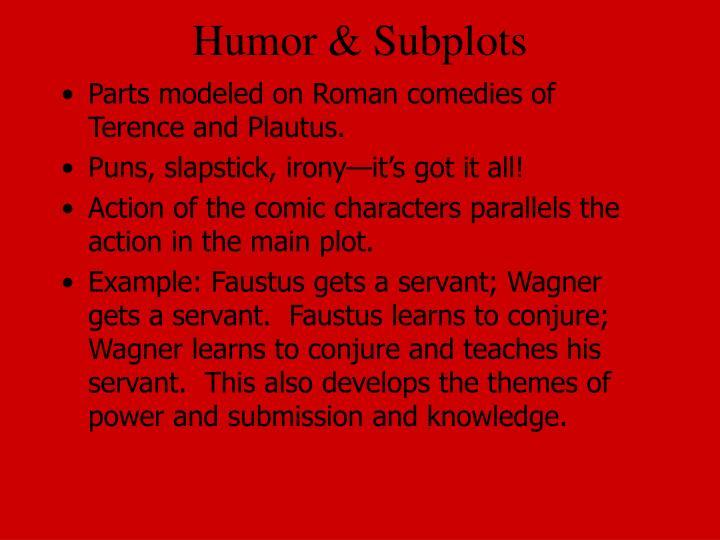 Humor & Subplots