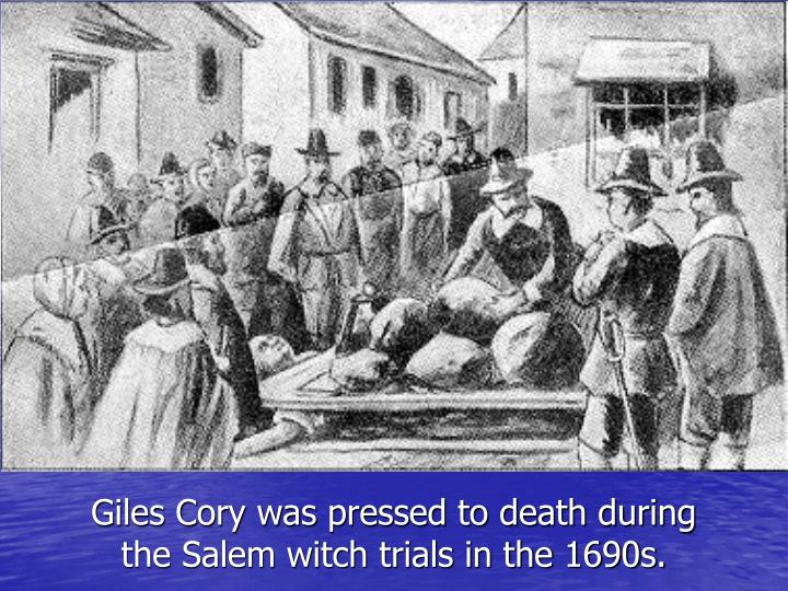 millers presentation of giles corey Get everything you need to know about giles corey in the crucible analysis, related quotes, timeline.
