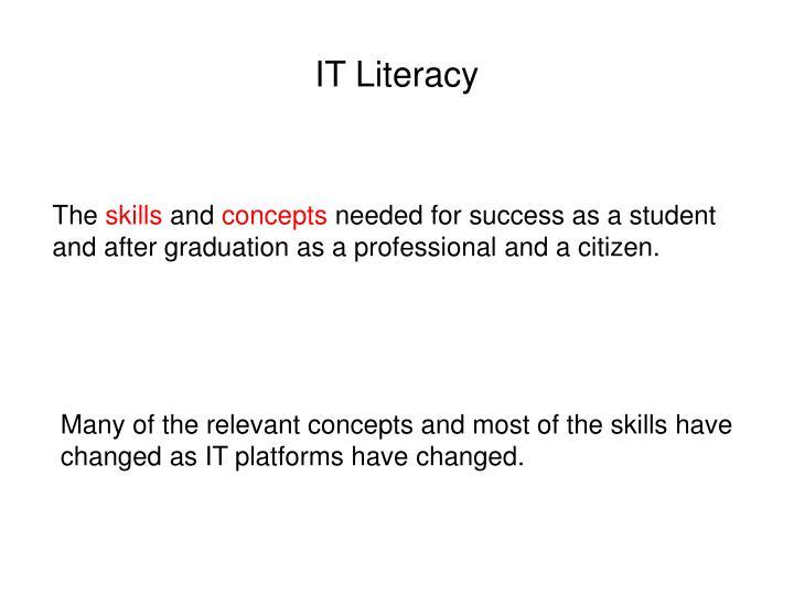 IT Literacy