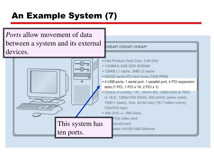 An Example System (7)