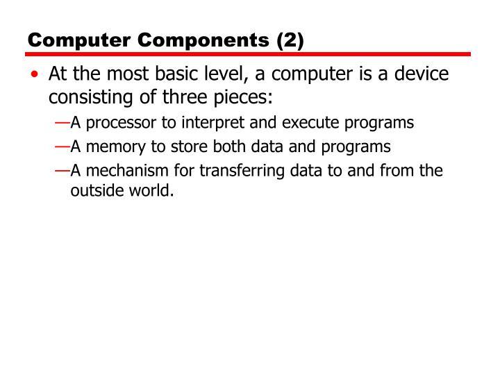 Computer Components (2)