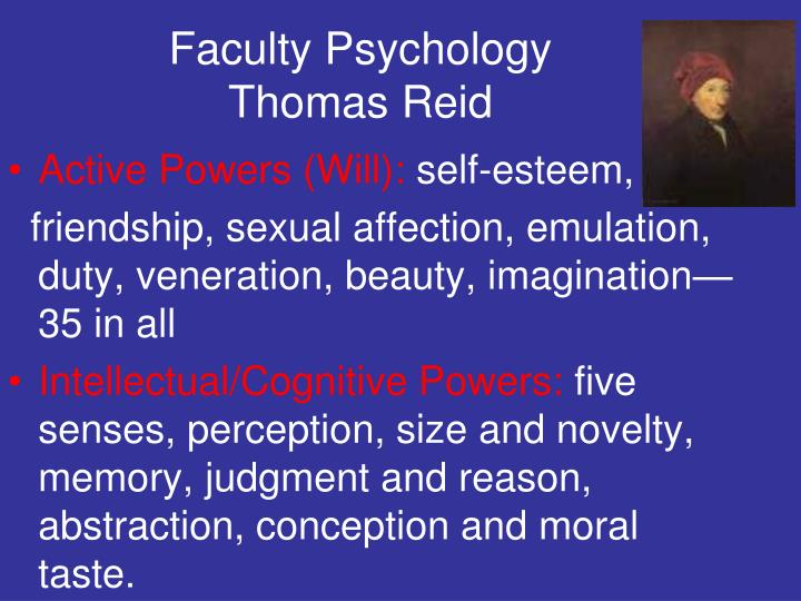 Faculty Psychology