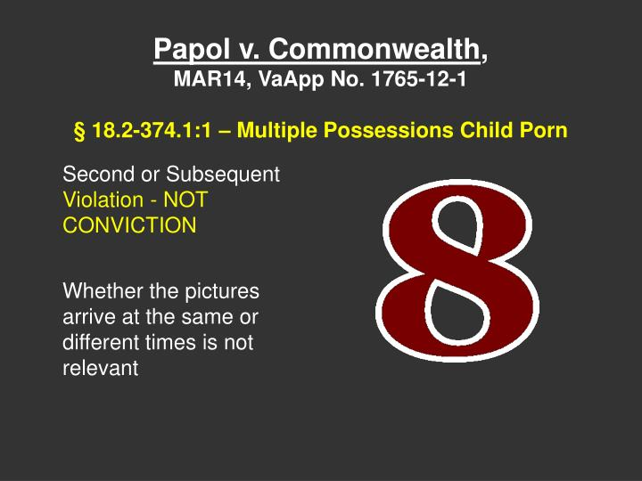 Papol v. Commonwealth