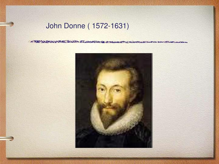 John donne writing style