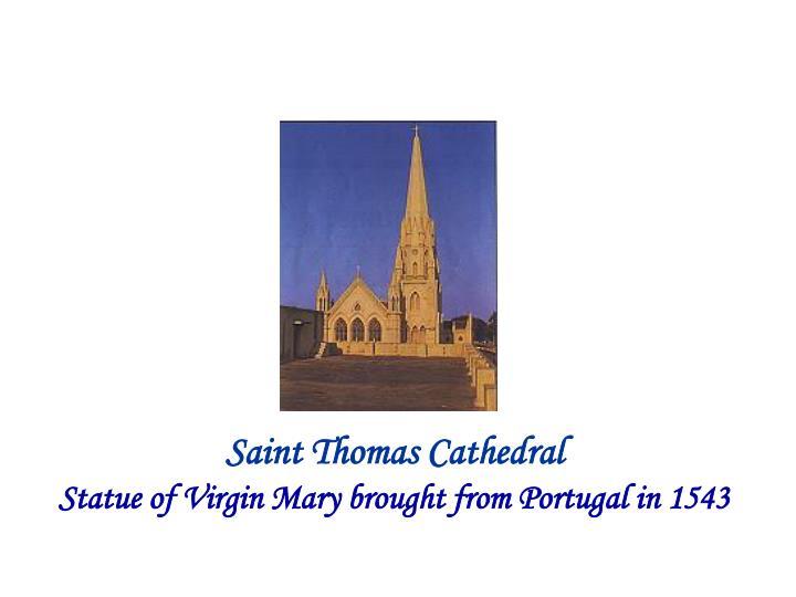 Saint Thomas Cathedral
