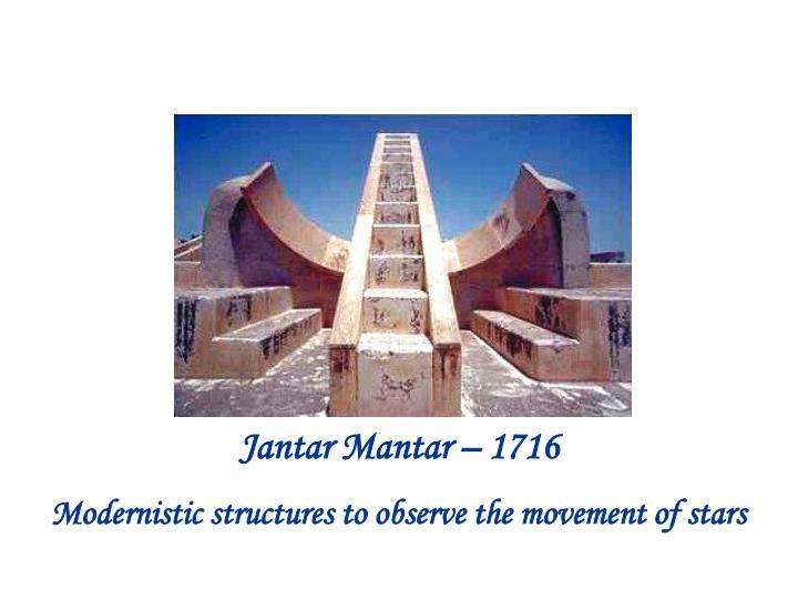 Jantar Mantar – 1716