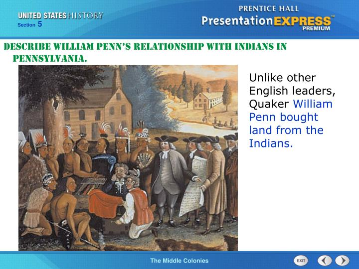 quaker relationship with indians
