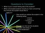 questions to consider1